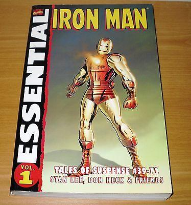 Marvel TPB Essential Iron Man vol. 1 - Tales of Suspense 39-72, Stan Lee, Kirby