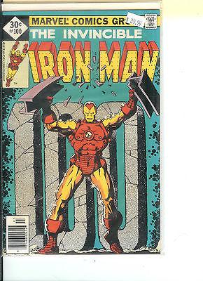 Invincible Iron Man 100 Marvel 1977