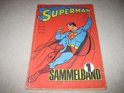 Superman Sammelband 1 mit Heft 1 2 3 4 von 1966