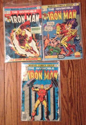 Iron Man #71,#72,#100