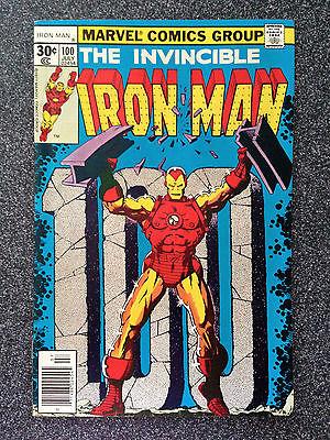 IRON MAN #100 VF- MARVEL COMICS