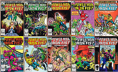Power Man and Iron Fist (Marvel Comics, 1978-1986) nos. 93-100, 102,&105