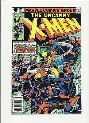Uncanny X-men #133 Bronze Age Byrne Art Wolverine vs Hellfire Club