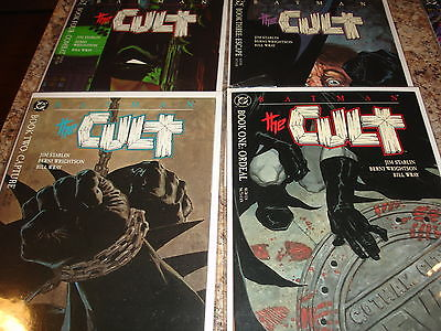 Batman The Cult 1 2 3 4 Complete Set Lot 1-4