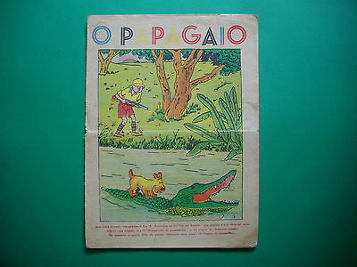 Tintin - Tintin au Congo - O Papagaio #215 - 1939
