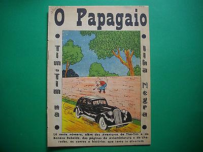 Tintin - L'Ile Noir - O Papagaio #322 - 1941