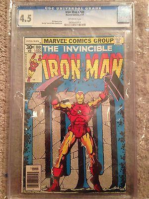 Iron Man #100 (Jul 1977, Marvel)