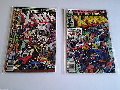 Uncanny X-Men, #s 132 vg, 133 vg, Lot of 2, 1980 Marvel Comics
