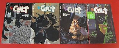 BATMAN: THE CULT #1 2 3 4 COMPLETE MINI #1-4 JIM STARLIN & BERNI WRIGHTSON
