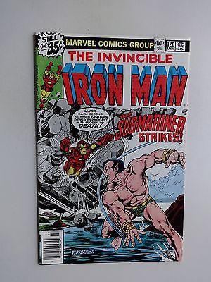 IRON MAN #120        BOB LAYTON     **