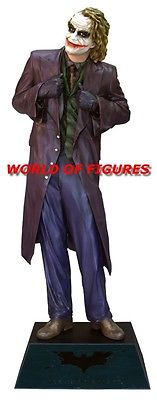 * JOKER - BATMAN DARK KNIGHT * LIFESIZE - STATUE / FIGURE * MUCKLE * OXMOX *
