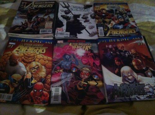 Avengers / New Avengers / Secret Avengers/ Mighty Avengers 40 Marvel Comic Lot