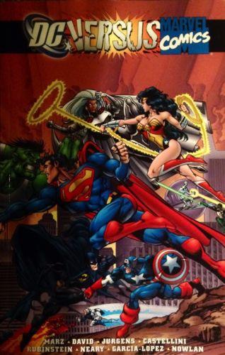 DC Comics Versus Marvel Comics Book