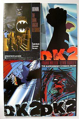 BATMAN: The Dark Knight Returns TPB 1st printing & The Dark Knight Strikes Again