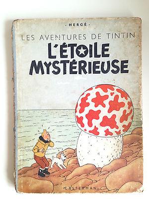 TINTIN L'ÉTOILE MYSTÉRIEUSE B1  1946 papier épais