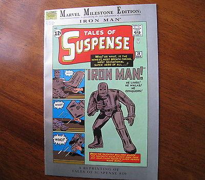 Tales of Suspense #39 Marvel Milestone Edition First App Iron Man High Grade