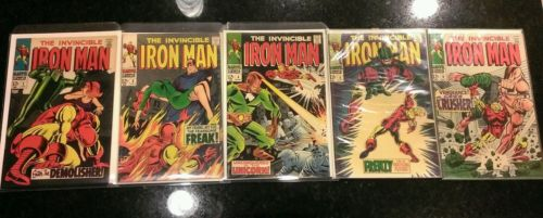 Iron Man # 2 3 4 5 6 7 8 9 10 16 24 27 29 32 47 99 101 102 196 Lot Run Wow Look