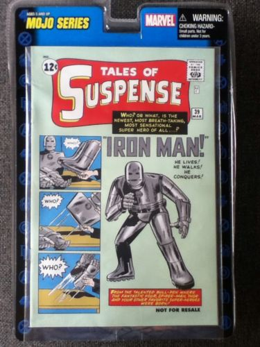 Marvel Legends Reprint, Tales of Suspense #39, 1st Appearance Iron Man