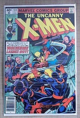 Uncanny X-Men #133 Wolverine Appears VG Plus Condition