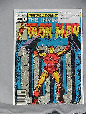 Marvel Comics - The Invincible Iron Man # 100