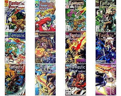 Fantastic Four Unlimited 1-12 Complete Marvel Comics Run NM/M 12 Comics