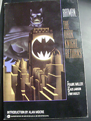 BATMAN THE DARK KNIGHT RETURNS TPB F/VF DC JJC 317