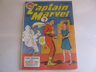 Captain Marvel Shazam #57 1946 File Copy Fawcett Comic