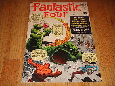 Fantastic Four #1 1961 Very High Grade VF/NM 9.0 1st Fantastic Four Original