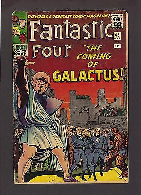 Fantastic Four #48, #52, & Annual #1 4.0, 4.5, & 1.0  Marvel Silver Age