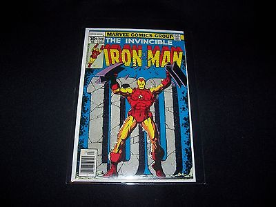 Iron Man #100  VF/NM Beautiful book Awesome classic cover Bronze Age Marvel