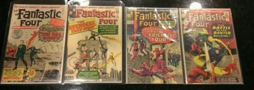 Fantastic Four #13 26 36 40 44 47 51 53 54 66 70 72 74 Milestone 1 Annual 26 Run