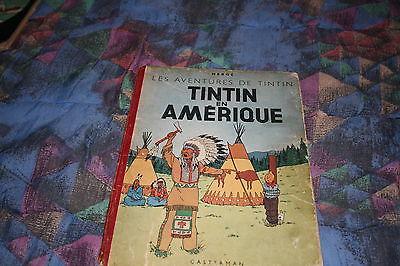 TINTIN  * EN AMERIQUE B1*1946