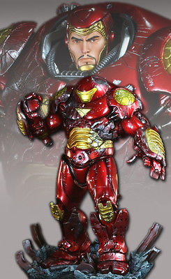 Bowen Designs Collector Club Exclusive Battle Damage Iron Man Hulkbuster #93/300