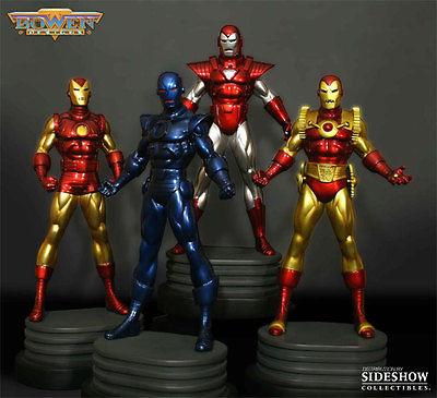 Bowen Designs Website Exclusive Iron Man 4 Pack #27/300