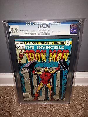 Iron Man 100 35 Cent Variant Rare CGC 9.2 Highest Grade