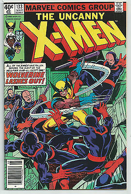 UNCANNY X-MEN #133 - HIGHER GRADE - WOLVERINE LASHES OUT HELLFIRE CLUB