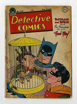 Detective Comics #120 Batman Robin Penguin Cover DC Golden Age Comic