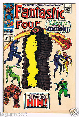 Fantastic Four Issue # 67 Vg 4.0 First app of HIM/Warlock