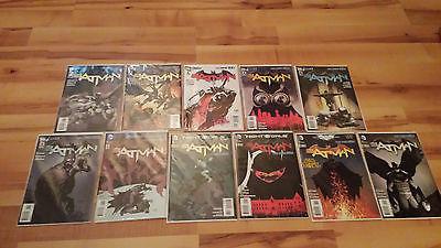 Batman #1-11 and Annual New 52 Night of the Owls Near Mint MINT Comic Books DC