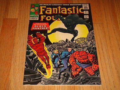 Fantastic Four #52 Vol 1 Super High Grade NM 9.4 1st App Black Panther Very Rare