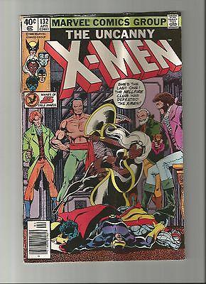 Uncanny X-Men Comic Lot: #132, 133, 158. Low Grade. Dark Phoenix Saga, Rogue