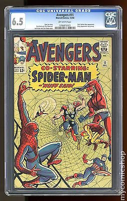 Avengers (1963 1st Series) #11 CGC 6.5 (1094816001)