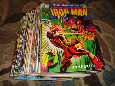 Iron Man #11, 12, 14, 16, 17, 18, 21, 22, 26, 28, 30, 31 - 101  Vol 1 Huge Lot
