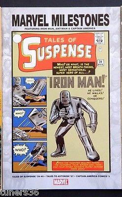 Tales of Suspense #39 Marvel Milestones Edition Reprint 1st Iron Man Wow Key