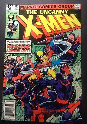 "The Uncanny X-Men Marvel Comic Vol. 1 #133 9.0 VF/NM ""Wolverine Lashes Out"""