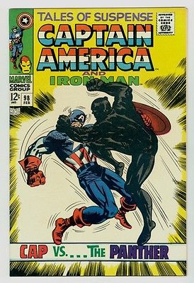 Tales of Suspense #98 NM+ 9.6 White pages Unrestored 1968 Marvel Silver age