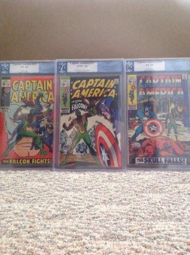 Captain America #117, #118, #119