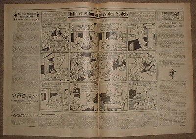COEURS VAILLANTS 1931 N°06 TINTIN ET MILOU AU PAYS DES SOVIETS
