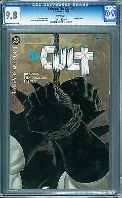 Batman The Cult #2 CGC 9.8 DC Comics 1988 White Pages