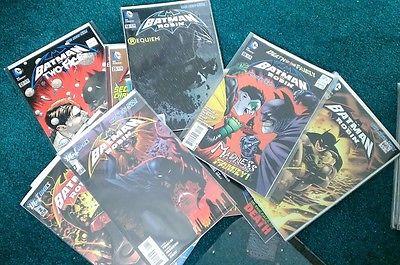 Batman and Robin 0-29, Annual 1-2, New 52, Night of the Owls, Joker, Nightwing